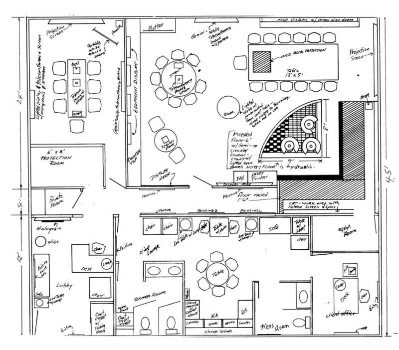 D Exhibition Floor Plan : Prelimenary floor plan sketch